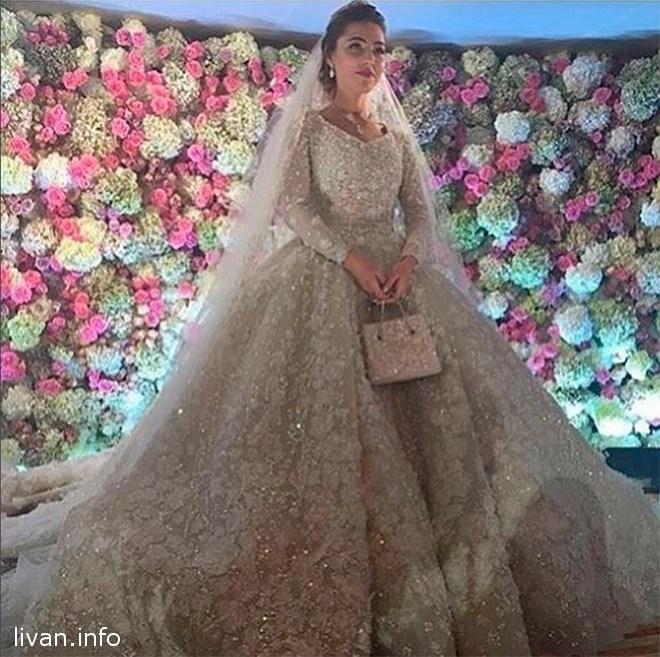 7d266cda3e9 Elie Saab создал свадебный наряд за 27 млн руб. для невесты сына Гуцериева