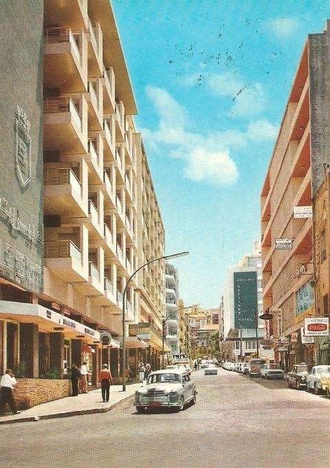 Улица Финициа в 70х