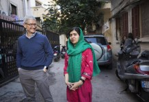 Тим Кук и Малала Юсафзай в Бейруте