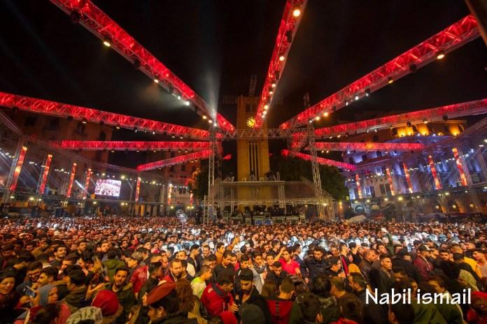 Празднование Нового года 2019 в Бейруте