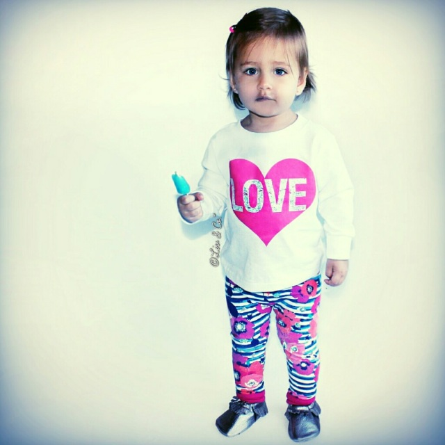 Girl Valentines Day Outfit Baby Girl Love Heart