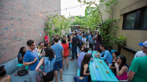 BBQ Blowout with Contra & Salt Cathedral at Good Co. on July 14, 2015