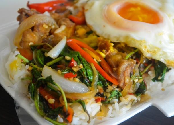 Deep Fried Pork, Bangkok Street Food, Cheap Eats