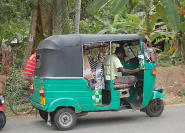Broken Down Tuk-Tuk, South Sri Lanka Tour, Independent Travel, Asia