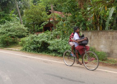 Srilankan Boys on Bike, South Sri Lanka Tour, Independent Travel Asia