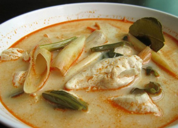Tom Yum Creamy, Bangkok Street Food, Cheap Eats
