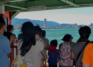 Penang Ferry Boat, Malaysia to Thailand by Train From Kuala Lumpur