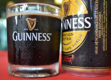 Guinness Foreign Extra, Top Malaysian Food, Eating in Malaysia