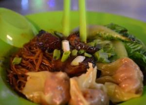 Won Ton Mee, Red Garden Food Paradise Penang Georgetown