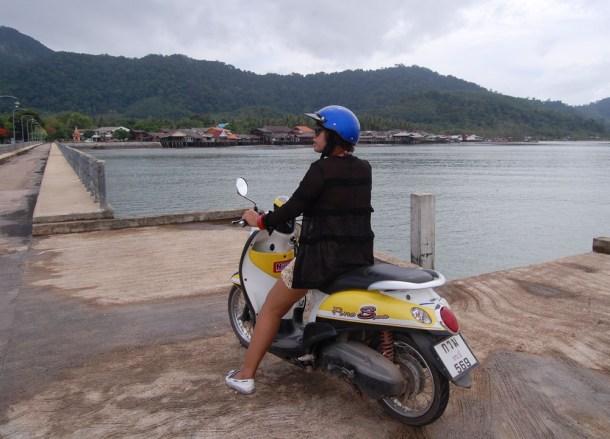 Ko Lanta Old Town Pier, Low season in Krabi Thailand, Southeast Asia