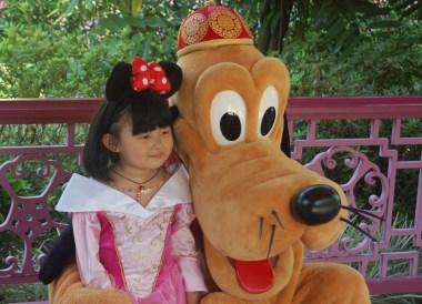 Goofy at Disneyland, Hong Kong by Train Travel, MTR Top Attractions, Asia