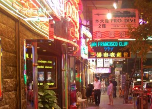 Wan Chai Neon Lights, Hong Kong by Train Travel, MTR Top Attractions