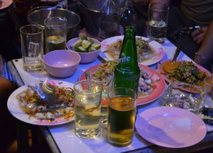 Alcohol and Spicy Food, Is street food safe in bangkok