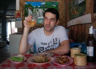 Food Blogger Allan Wilson, Bangkok Street Food Street, Southeast Asia