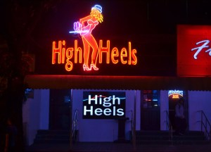 High Heels Bar P. Burgos in Manila, Philippines, Southeast Asia