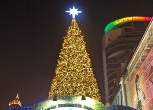 Central World Christmas Tree, Christmas in Bangkok Christmas Lights Tour