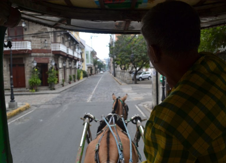 Horse and Cart Tour. Manila Tourism, Philippines, Southeast Asia