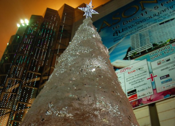 Siam Paragon Christmas Tree, Christmas in Bangkok Christmas Lights Tour