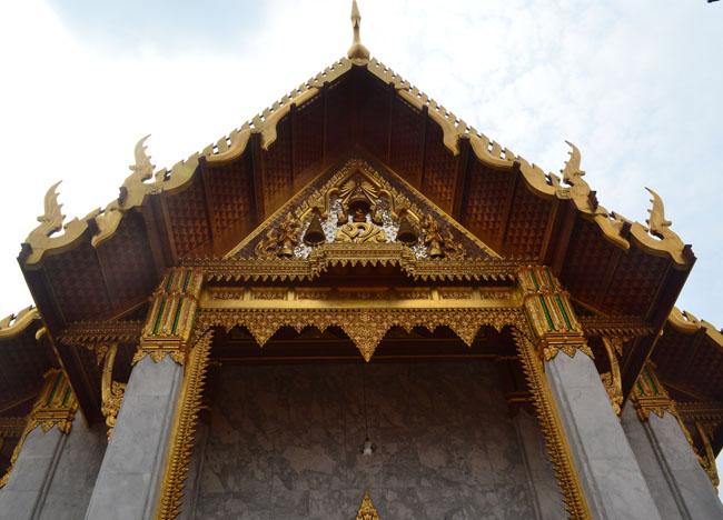 Phra Ubosot at Wat Tri Thotsathep Worawihan, Bangkok Southeast Asia