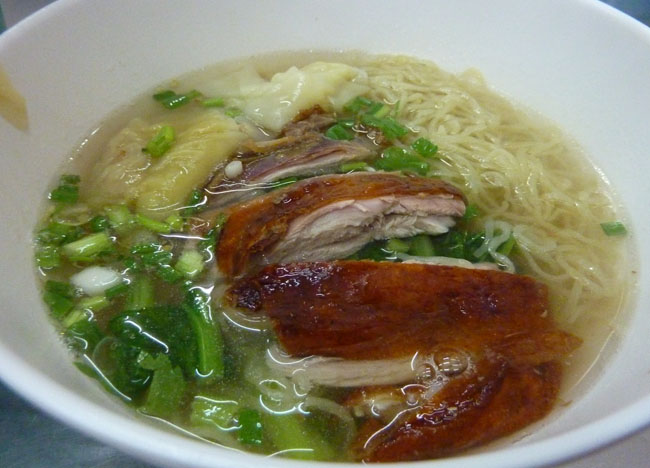 Ped Yang Duck Noodles, Roast Duck Restaurant in Bangkok Southeast Asia