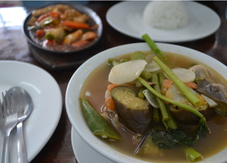 Sinigang and Gambas on Stopover at Clark Airport, Southeast Asia