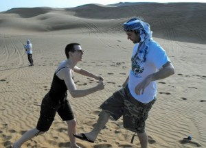 Dubai Dune Bashing. Travelling with Mum in Southeast Asia