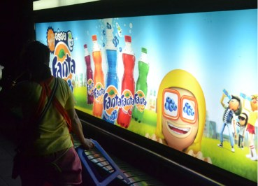 Fanta Flavours - Thailand Soft Drinks - Blueberry Fanta