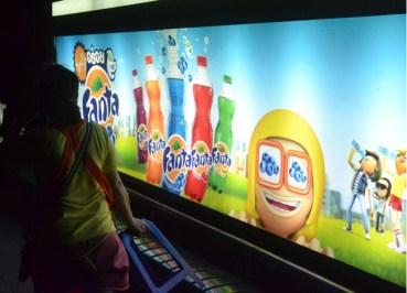 Fanta Flavours - Thailand Soft Drinks - Blueberry Fanta