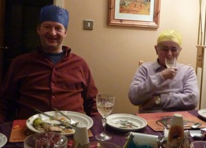 Christmas Dinner back Home in Bangor, Northern Ireland