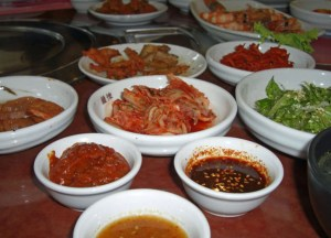 Banchan Kimchi, You Rea Guan, Bangkok Korean Barbecues,