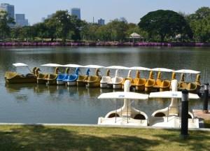 Peddle Boats, Benjakiti Park Bangkok, Park Life in Southeast Asia