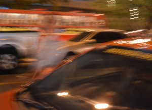 Angry Taxi Driver, New Years Day in Bangkok, Southeast Asia