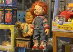 Retro 1980s Chucky Doll, Bangkok Retro Market, Southeast Asia