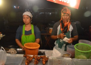 Fried Chicken Hawker. Langkawi to Bangkok via Satun, Southeast Asia