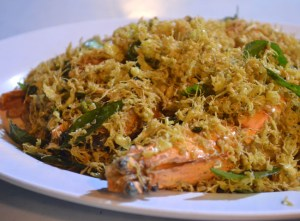 Butter Prawns, Wanderlust Travel Blog of the Year 2013, Southeast Asia
