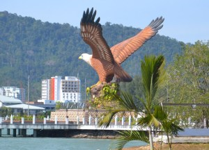 Eagle Kuah Pier. Border Crossing. Langkawi to Satun, Southeast Asia