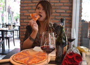 Wine Connection Pizza, Valentine's Day in Bangkok, Southeast Asia