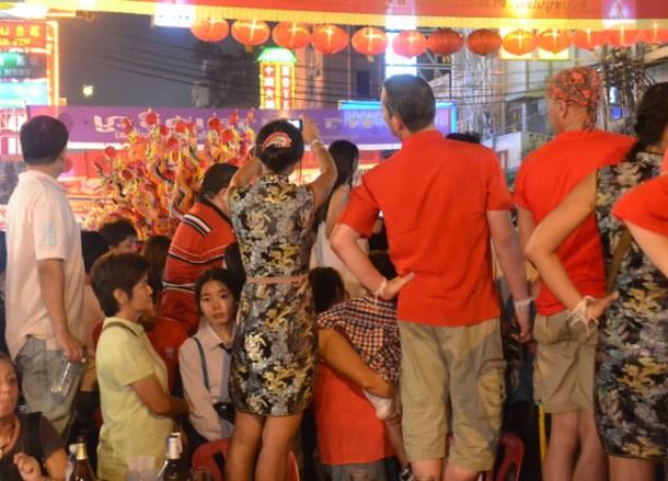 Royal Procession, Chinese New Year in Bangkok Chinatown, Yaowarat