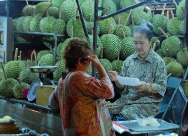 Durian Trade, Weird Fruits of Thailand, Isaan