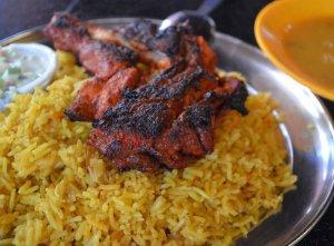 Biryani Rice, Restoran Kapitan, Georgetown Indian Mamak Restaurants