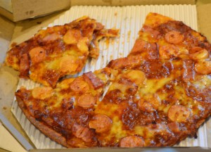 Dominos Meatzza,  Bangkok Pizza Delivery, Southeast Asia