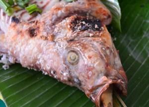 Grilled Fish, Taling Chan Floating Market Bangkok, Southeast Asia