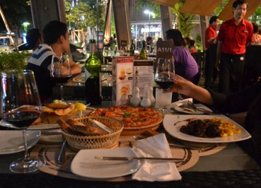 Outdoor Seating, K Village, Wine Connection Bangkok, Thailand, Asia