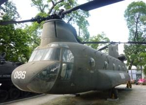 Helicopter, War Remnants Museum, Ho Chi Minh City Centre, Vietnam