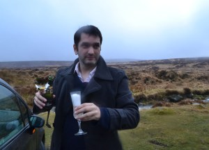Champagne, PS I Love You, Engaged in Wicklow Mountains, Sallys Gap