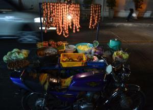 Isaan Sausage Motorbike, Is street food safe in bangkok
