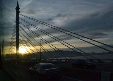 Bridge to Penang Malaysia, Singapore to Bangkok Overland Island Hopping