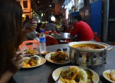 Fish Head Curry Bugis Singapore to Bangkok by Land, Island Hopping