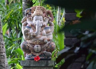 Ganesh Statue Bali, Escape Tourism in Ubud Cultural Capital of Bali