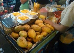 Mango Sticky Rice Dessert, Top 10 Isan Food, Northeastern Thailand